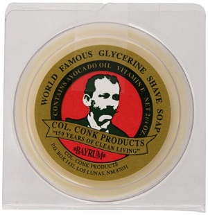 Best Shaving Soap Col. Conk