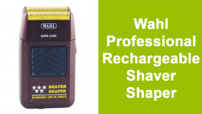 Wahl Professional Rechargeable Shaver Shaper