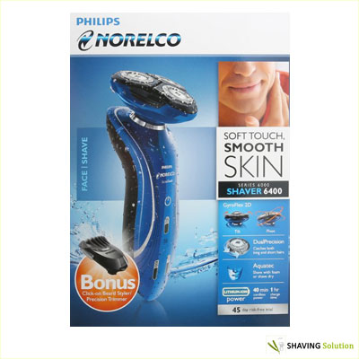 Philips Norelco Shaver 6400 Box