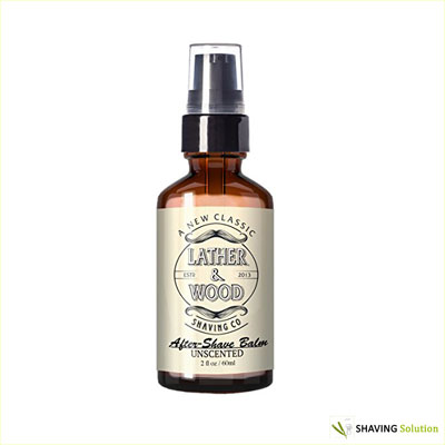 Lather & Wood Shaving Co. After Shave Balm