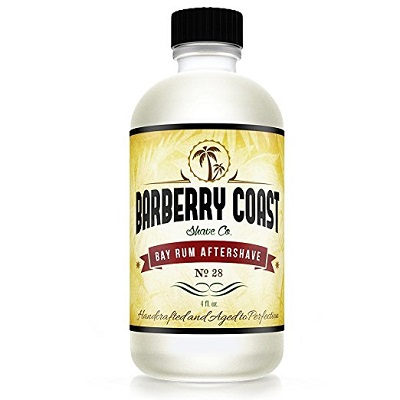 Barberry Coast Shave Co. Bay Rum Aftershave