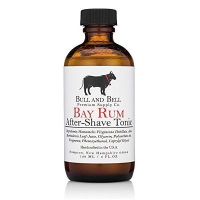 Bull and Bell Bay Rum Aftershave Tonic