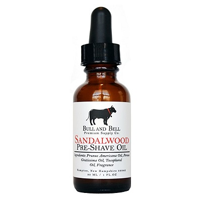 Bull and Bell Premium Supply Co Sandalwood Pre-Shave Oil