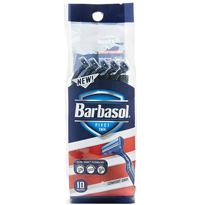 barbasol pivot disposable razor blade