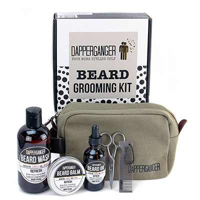 dapperganger beard grooming kit