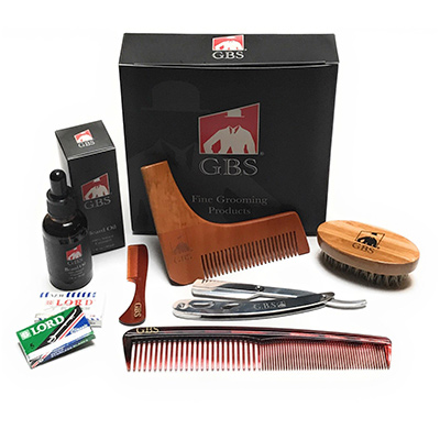 gbs beard grooming kit