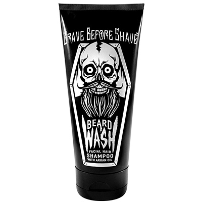 grave before shave beard shampoo