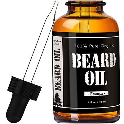 leven rose beard growth oil