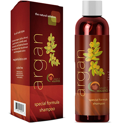 maple holistics argan shampoo