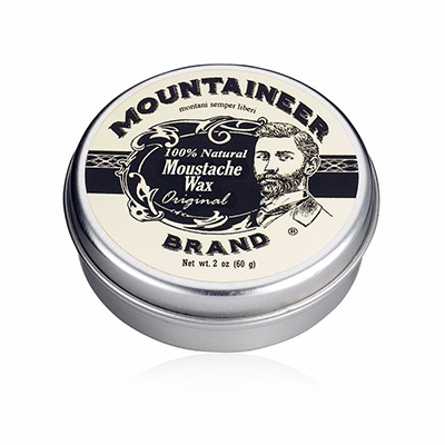 mountaineer mustache wax