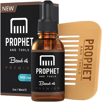 prophet and tools beard growth oil