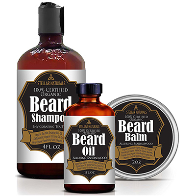 stellar naturals beard care set