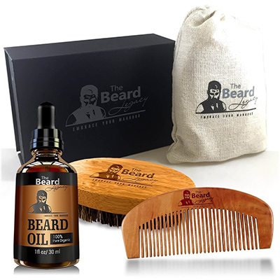 the beard legacy beard care kit