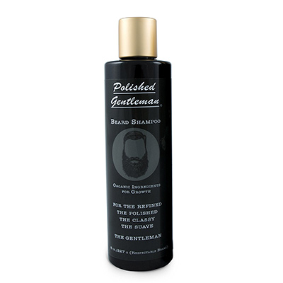 the polished gentleman beard shampoo