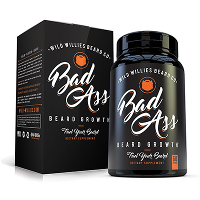 wild willies beard growth capsules