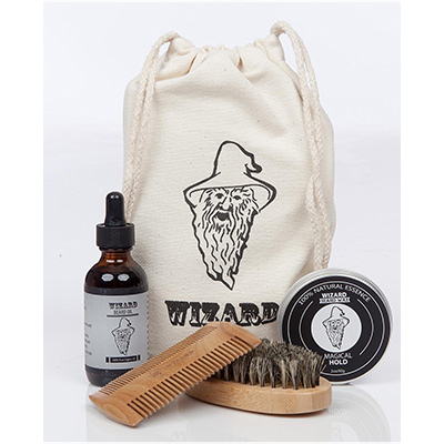 wizard beard grooming kit