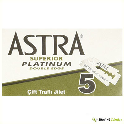 Best Double Edge Razor Blades Astra Superior Platinum Double Edge Razor Blades
