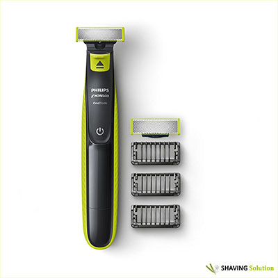 Best Norelco Shavers Philips Norelco OneBlade Bonus Pack with Free Blade, QP2520/72