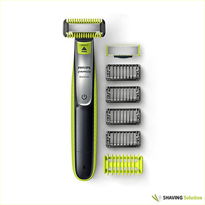 Best Beard Trimmer for Long Beards Philips Norelco OneBlade QP2630/72 Face & Body Bonus Pack with Free Blade