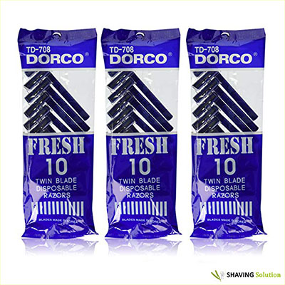 Best Men's Razors For Sensitive Skin Dorco Fresh