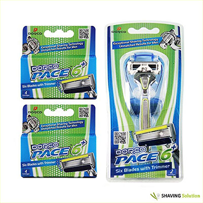 Best Razors for Shaving Heads Dorco Pace 6 Plus