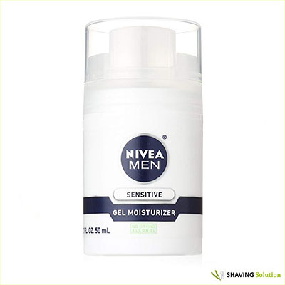 NIVEA MEN Sensitive Non-Greasy Face Gel Moisturizer