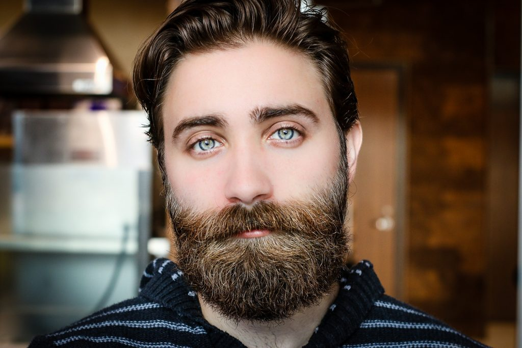 Photo of a man with beard