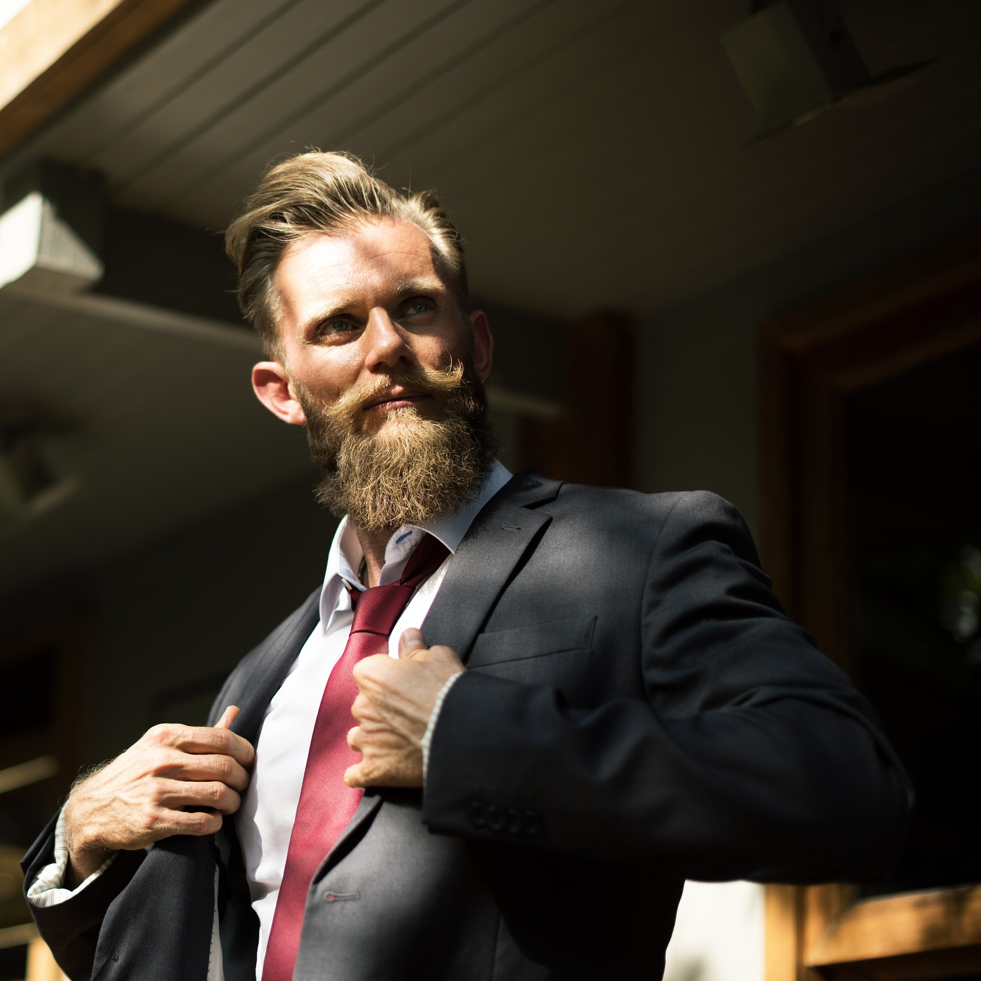How to Style a Patchy Beard